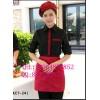 蛋糕店服务员工作服多种颜色,特制面包店工作服,亿妃服饰