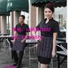 咖啡厅服务员工作服,店员工作服三件套,可绣字