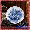 景德镇瓷盘 定做陶瓷赏盘 陶瓷看盘