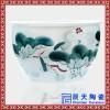 景德镇陶瓷鱼缸睡莲盆荷花缸后院摆件酒店宾馆摆件