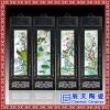 景德镇陶瓷板画青花人物四幅挂屏书房茶室有框装饰挂画