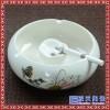 陶瓷烟灰缸定做logo广告多功能客厅大小号陶瓷烟缸不带盖