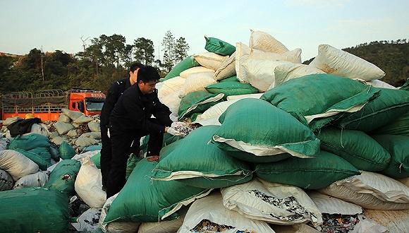 中国自2018年年底起还将禁止另外16种废金属、化学废品的进口