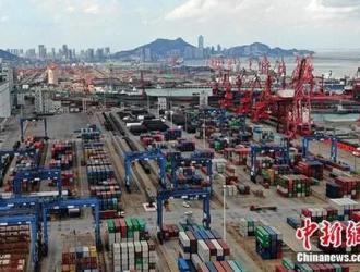 海关总署:前三季度外贸进出口总值22.91万亿元人民币