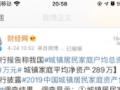 央行报告:中国城镇家庭户均总资产317万元