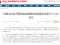 """金融委:全面落实""""零容忍""""政策,将组建打击资本市场违法活动协调工作小组"""