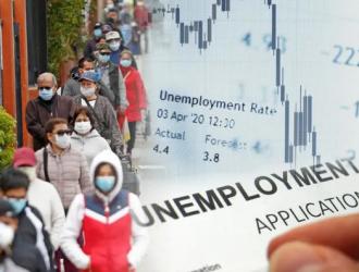 逾两千亿失业救济或已被骗子盗用 比官方数据多3倍