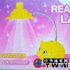 卡通创意小猪充电灯(多色随机)  LED充电灯 创意灯饰