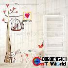 DIY创意家居装饰墙贴壁纸 厂家直供时尚组合挂钟