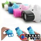 Lys002【新奇特】 创意小家电|手压电筒|小猪手电筒 led电筒