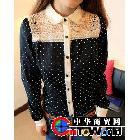 2012春装新品时尚潮流独特自我个性长袖衬衣 衬衫 女2736