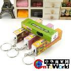口香糖钥匙扣 LED小夜灯创意带灯口香糖 可爱节能小手电