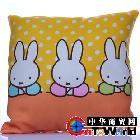 兔子组合沙发抱枕 创意方垫卡通靠垫沙发靠垫 卡通抱枕靠枕