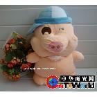 创意礼物 欠扁出气麦兜猪,拍打会说话的麦兜猪