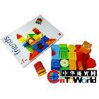 意大利大品牌sevi 新款彩色魔法积木 24块儿童创意积木 益智玩具