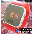 时尚个性LED手表 韩版创意男士适用情侣表 女士化妆镜面LED手表