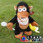 高档动物电动玩具 很好玩的磁控香蕉猩猩 创意玩具 搞笑玩具