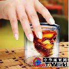 创意新品 双层玻璃杯子 骷髅酒杯