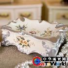 现货批发欧式手绘创意陶瓷烟灰缸萨洛姆时尚复古送男人礼品摆件
