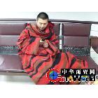 供应创意袖毯 电视毯子  双面绒毛毯