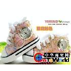 手表厂家批发直销韩版超人气小鞋子表钥匙扣表挂饰创意钟表礼品表