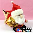 新款圣诞老人玩具礼品 圣诞节广告促销礼品创意收纳架