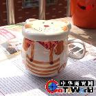 81056个性创意时尚卡通杯 带盖陶瓷杯/水杯/马克杯/现货混批