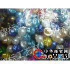 生产供应珍珠纽扣 彩色树脂卡通扣